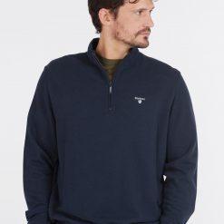 Barbour Bankside Half Zip Sweater - Navy