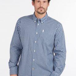 Barbour Gingham 22 Regular Shirt - Blue