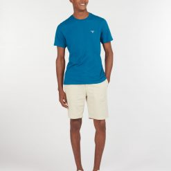 Barbour Sports Tee - Lyons Blue