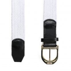 Holland Cooper Stirrup Belt - White