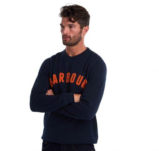 Barbour Prep Logo Sweatshirt - Navy
