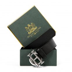 Holland Cooper Classic Belt - Black / Silver