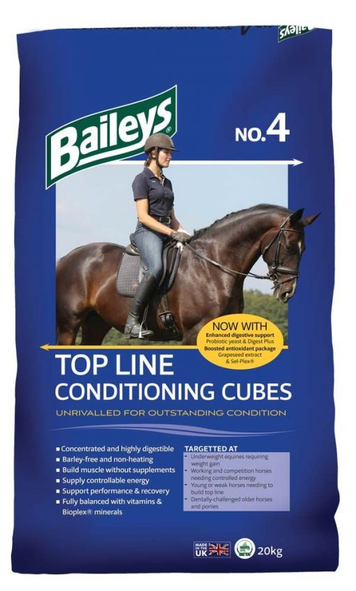 Baileys No.4 Top Line Conditioning Cubes **Collection Only**