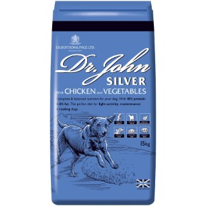 Dr John Adult Silver Working Dog Food 15KG **Collection Only**