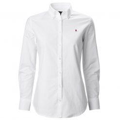 Musto Oxford Long Sleeve Shirt - White