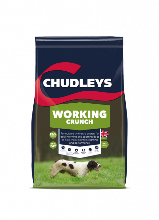 Chudleys Working Crunch **Collection Only**