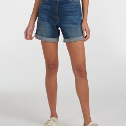 Barbour Maddison Denim Shorts - Authentic Wash