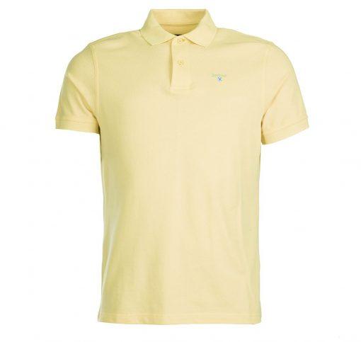 Barbour Sports Polo Shirt - Lemon Zest