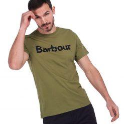 Barbour Logo T-Shirt - Burnt Olive
