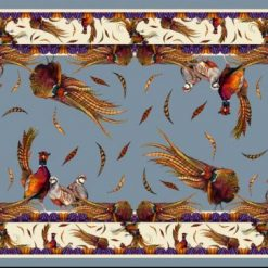 Clare Haggas George & Friends Narrow Silk Scarf - Pigeon