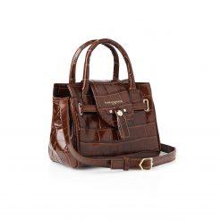 Fairfax & Favor The Mini Windsor Handbag - Conker Leather