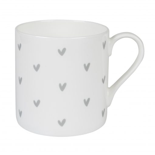 Sophie Allport Mug - Hearts (Grey)