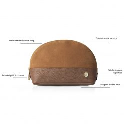 Fairfax & Favor The Chiltern Cosmetic Bag - Tan