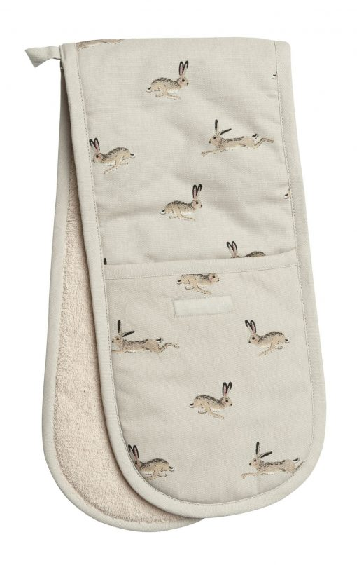 Sophie Allport Double Oven Glove - Hare