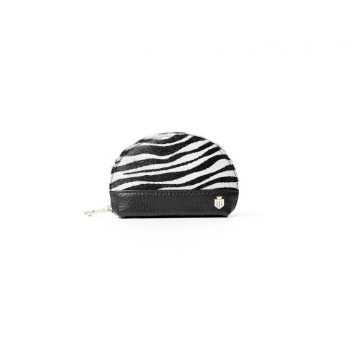 Fairfax & Favor The Chiltern Coin Purse - Zebra Haircalf