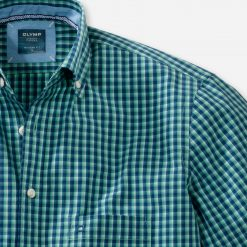 Olymp Casual Button Down Shirt - Light Green