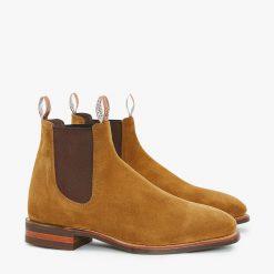 R.M Williams Comfort Craftsman Boot - Tobacco Suede
