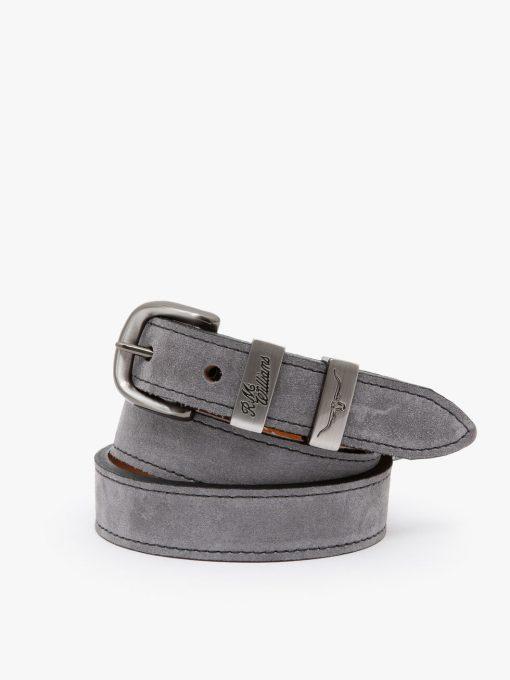 R.M Williams Drover Belt - Light Grey