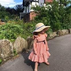 Little Lord & Lady Talia Frill Dress - Orange