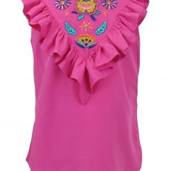 Little Lord & Lady Cerise Blouse - Pink