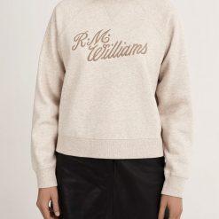 R.M Williams Script Crew Neck Sweater - Blush