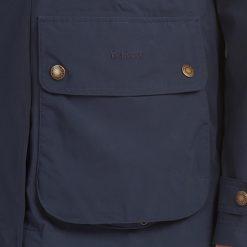 Barbour Clyde Waterproof Jacket - Navy / Classic