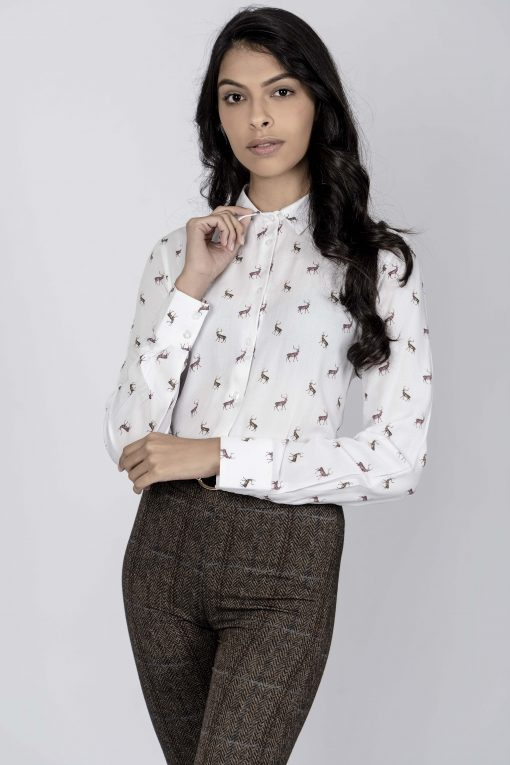 Hartwell Lydia Shirt - Stags