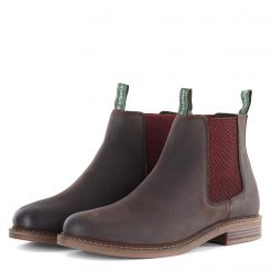 Barbour Farsley Chelsea Boots - Cocoa