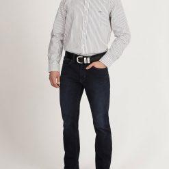 R.M Williams Collins Button Down Shirt - White / Navy