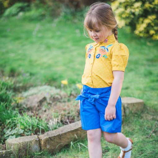 Little Lord & Lady Delilah Shorts - Blue