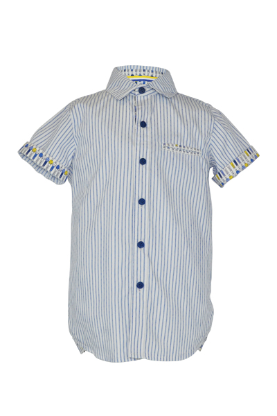 Little Lord & Lady Beardsley Shirt - Blue Stripe