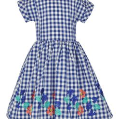 Little Lord & Lady Dorothy: Check Dress & Headband