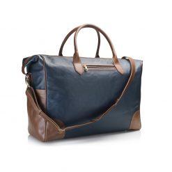 Fairfax & Favor The Cadogan Travel Bag - Navy
