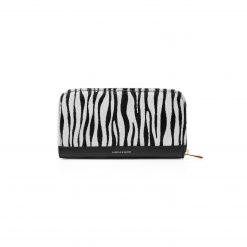Fairfax & Favor The Salisbury Purse - Zebra Haircalf