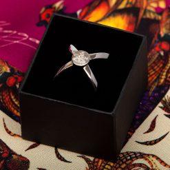 Clare Haggas Scarf Ring - Silver