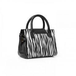 Fairfax & Favor The Mini Windsor Handbag - Zebra Haircalf