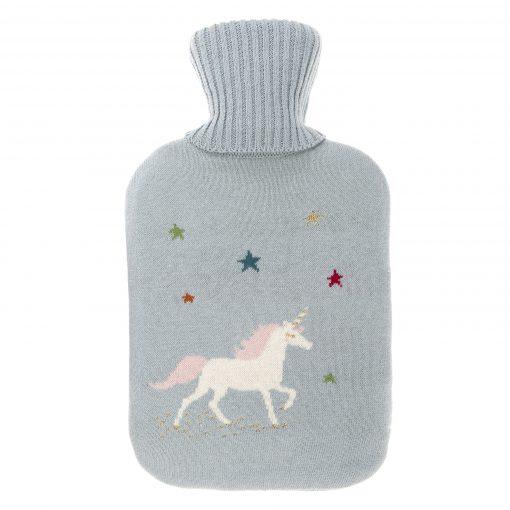 Sophie Allport Knitted Hot Water Bottle - Unicorn