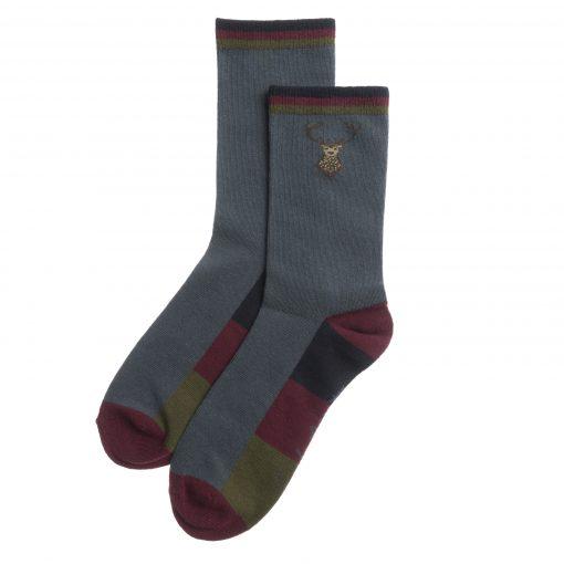 Sophie Allport Mens Socks - Highland Stag