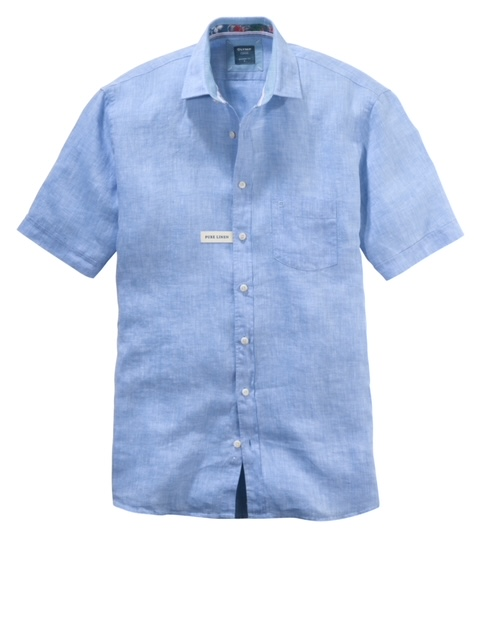 Olymp Casual Modern Fit Shirt - Blue