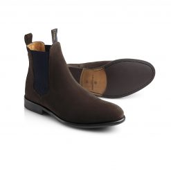 Fairfax & Favor The Chelsea II Suede Boot - Chocolate