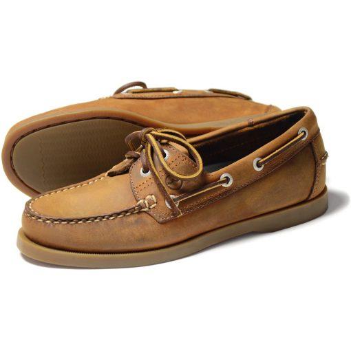 Ladies Creek Deck Shoes - Sand