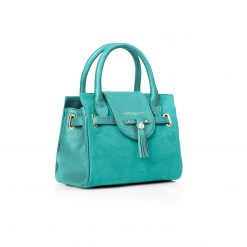 Fairfax & Favor The Mini Windsor Handbag - Turquoise
