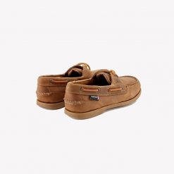 The Deck Lady II G2 Leather Boat Shoes - Walnut