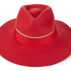 Hicks & Brown The Oxley Fedora - Berry