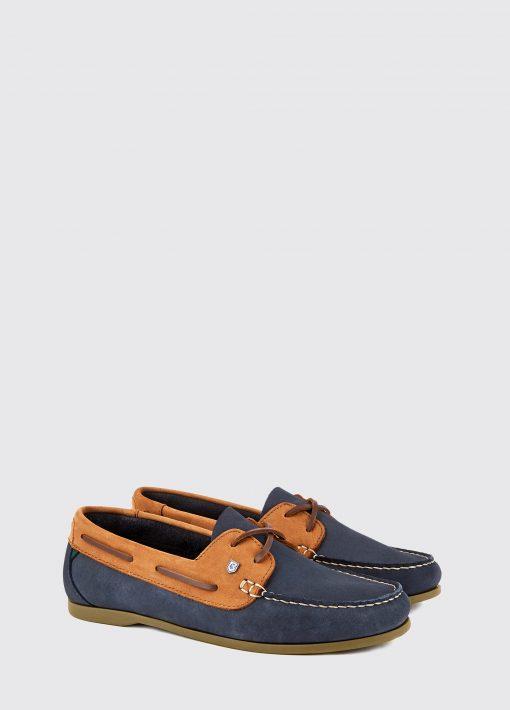 Dubarry Aruba Deck Shoe - Denim / Tan