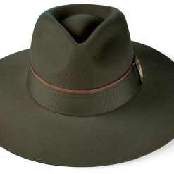 Hicks & Brown The Oxley Fedora - Olive