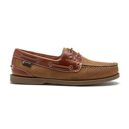 Bermuda II G2 Leather Boat Shoes - Walnut / Seahorse