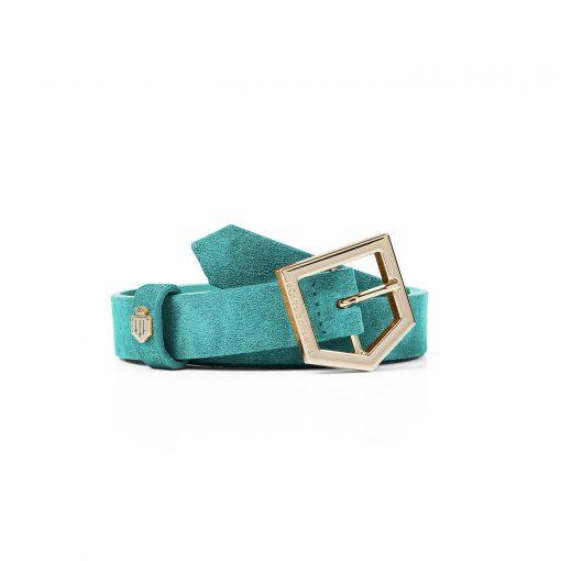 Fairfax & Favor The Sennowe Belt - Turquoise