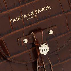 The Windsor Handbag - Conker Leather