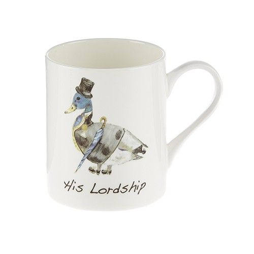 At Home In The Country Fine Bone China Mug - His Lordship!